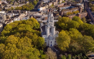 St Anne's from the air
