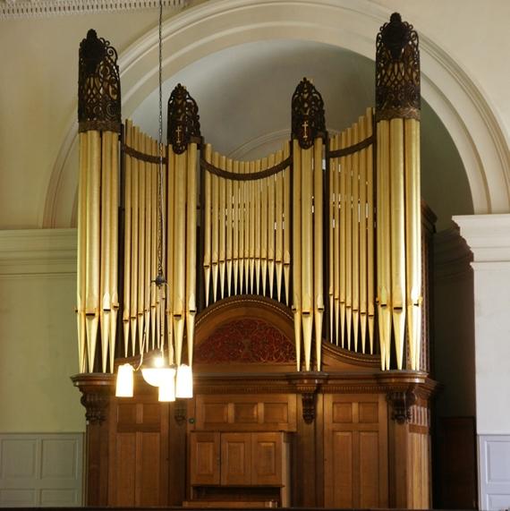 St Anne's restored organ