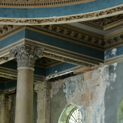 Damaged plasterwork