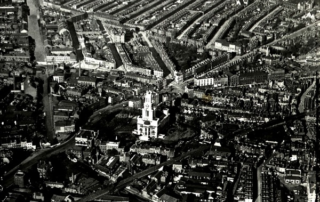 St Anne's from the air, early 20th Century